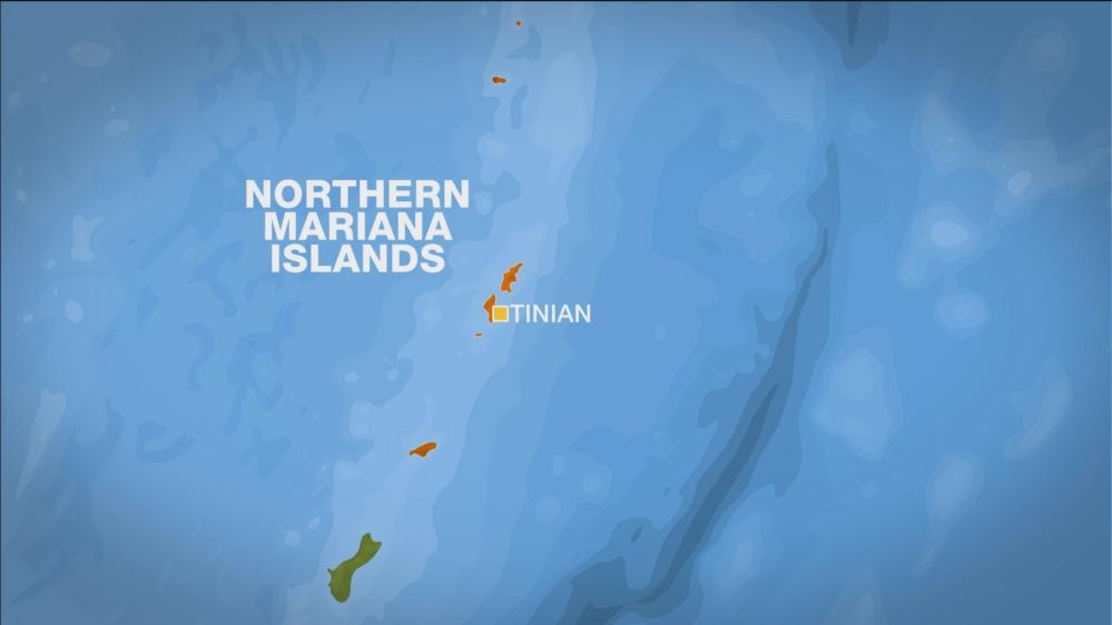 Tinian map